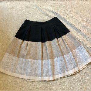 Harve Benard three colors pleated linen skirt  8
